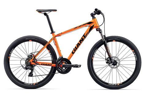 Giant Bicycles Giant Atx 2 Orange Black Giant Bicycles Bicycle Mountain Bike Art