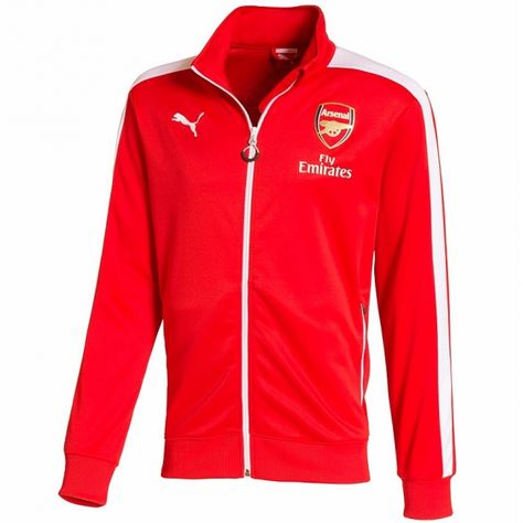 PUMA Arsenal FC T7 Anthem Jacket pánská bunda  6b97368e3