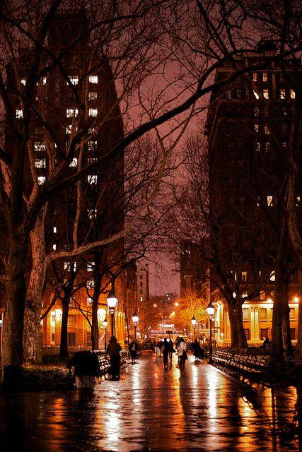 🇺🇸 Rainy night (Greenwich Village, New York, NY) by Stephen Boodram ☔️🌃