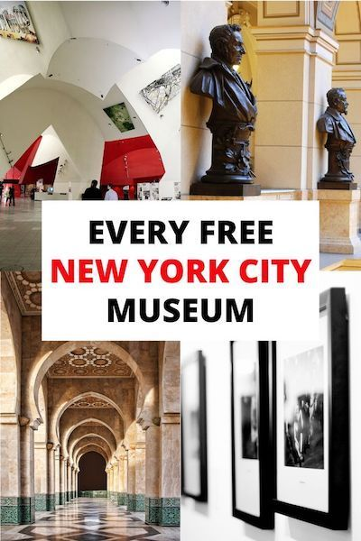 61 Free Museums In Nyc By Day In 2020 New York Travel New York City Travel Usa Travel Guide