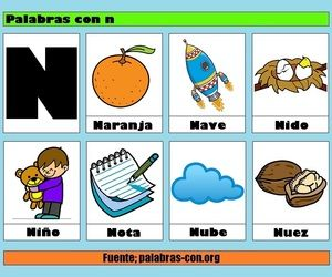 27 Images About Palabras On We Heart It See More About Palabras And Letras Writing Classes Kindergarden Preschool Spanish