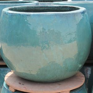 Source Wholesale Tall Outdoor Glazed Jars Tall Temple Jar Green Glazed Planter Pot Vietnam P Cheap Plant Pots Plastic Plant Pots Ceramic Planter Pots