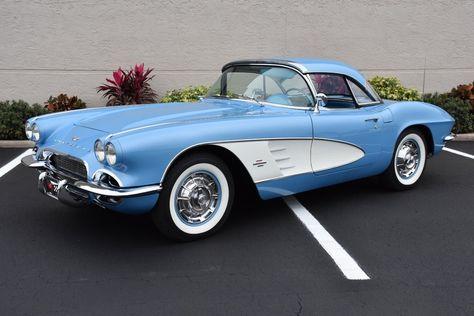 Corvette Convertible 1959 Retro Style Car Babygrow