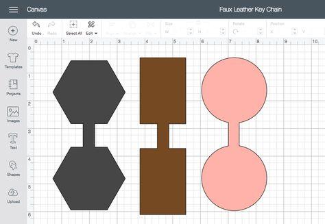 DIY Fau Leather Keychains using the Cricut Maker Leather Crafts Cricut Craft Room, Cricut Vinyl, Diy Leather Projects, Leather Diy Crafts, Diy Leather Earrings, Diy Keychain, Diy Leather Keychain, Cricut Tutorials, Maker