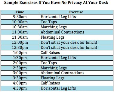 Sitting At Your Desk All Day Is Very Dangerous To You Health Find Out 11 Easy Exercises Can Do Without Getting Fired Healtha