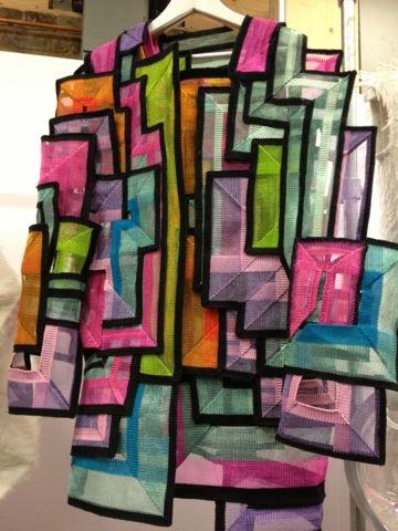 New Embroidery Fashion Fabric Manipulation Central Saint Martins Ideas
