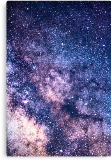 Purple Star Galaxy Canvas Print By Newburyboutique In 2021 Galaxy Painting Galaxy Artwork Galaxy Wallpaper