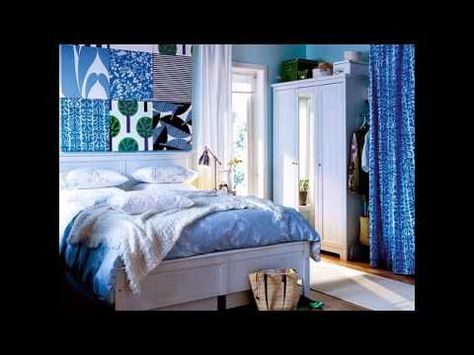 Blue Bedroom Design Ideas by homedecorelitez.com