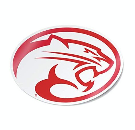 University of Houston Cougars Cougar Head Cornhole Decal (Includes 1 Decal)