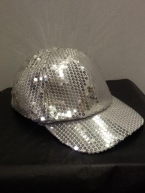 07104bdb3ba Silver sequin ball cap in 2018