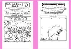image regarding Free Printable Children's Church Bulletins identify Pin upon childrens church
