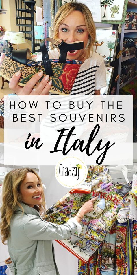 Your guide to the best souvenirs to take home on your vacation to Italy!