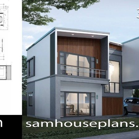 House Plans Idea 9x10m With 4 Bedrooms Sam House Plans House Plans Bedroom House Plans House Styles