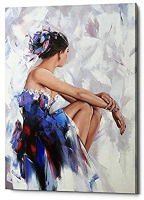 """beautiful ballet PICTURE CANVAS WALL ART 24/""""X18/"""""""