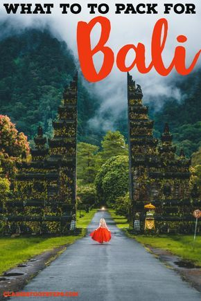Are you planning a trip to Bali and wondering what to pack for Indonesia? Read this Bali packing list for the best list of what to pack for Bali, including clothes to wear in Bali, toiletries to bring to Bali and Bali essentials. You'll know all of the things to take to Bali after reading this Indonesia packing list. #bali #packinglist