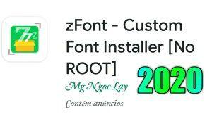 Melhor Aplicativo Para Personalizar A Fonte Do Android 2020 Zfont