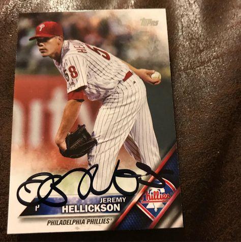mlb Jeremy Hellickson signed 2/2...