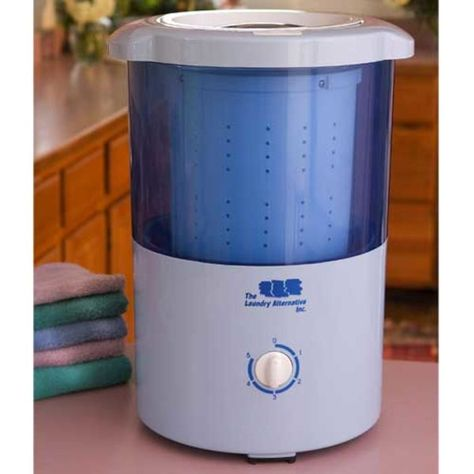 Laundry Alternative Mini Countertop Spin Dryer Primary Image