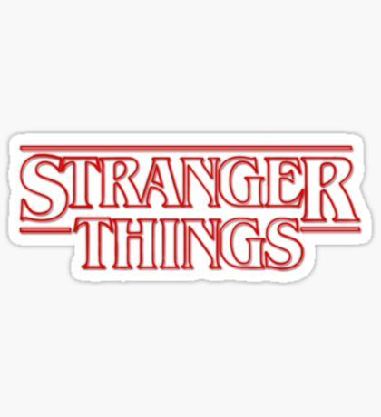 Stranger Things Stickers Stranger Things Library Party In