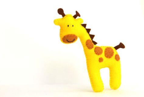 Felt Baby Crib Mobile Pattern. Jungle Safari Animals Mobile. DIY ...
