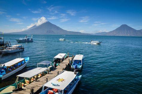 One of the most serene spots Panajachel Lake Atitlan Guatemala