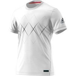 Adidas Tshirt Barricade 2018 Weiss Herren Adidas In 2020 Adidas Tshirt Herrin Und Adidas