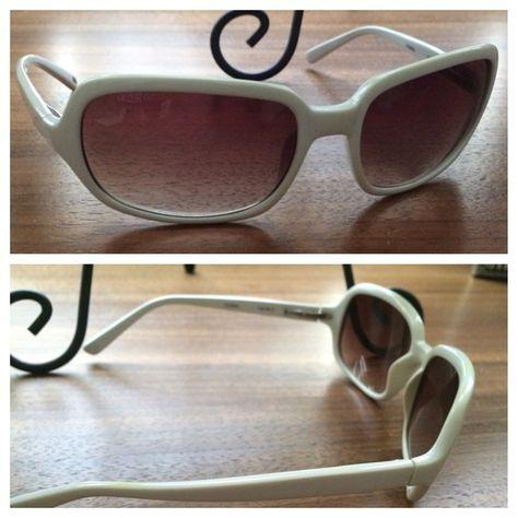 Fossil sunglasses (style: Nicole) White Fossil sunglasses