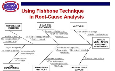 Root Cause Analysis Fishbone Diagram Examples  Nursing