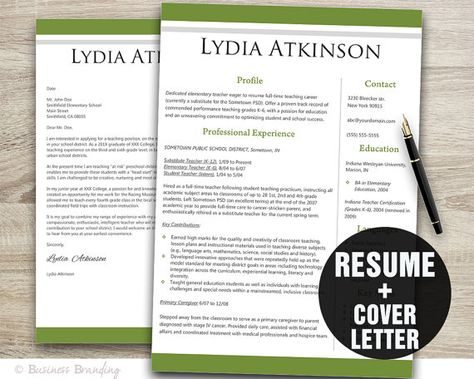 Resume and Cover Letter Templates with Rubrics Cover letter - coverletter for resume
