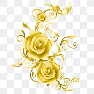 The Unique Wedding Card With Golden Roses Roses Clipart Golden Roses Golden Flower Png And Vector With Transparent Background For Free Download Vintage Wedding Invitation Cards Unique Wedding Cards Flower Wedding