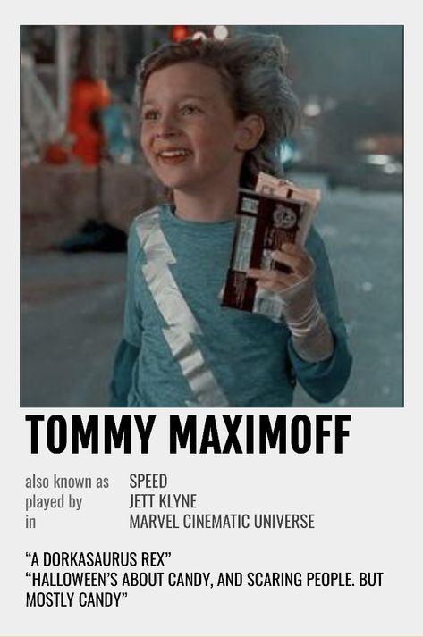 Tommy Maximoff Polaroid Poster