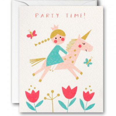 Print Pattern Paperchase Cards Unicorn Illustration Cards School Art Projects