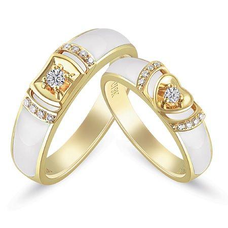 USA vendeur weding Three Ring sets Argent Sterling 925 BEST DEAL Bijoux Taille 4