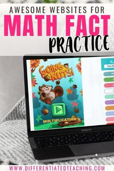 30+ Awesome Online Math Fact Games to Build Computational Fluency