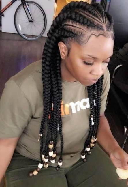 Braids Hairstyles For Black Women Kids African Americans 57 Ideas Braidedhair Braided Hairstyles For Black Women Cornrow Hairstyles African Braids Hairstyles