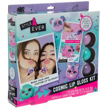 Cosmic Lip Gloss Kit Hobby Lobby 5180682 In 2021 Craft Activities For Kids Activities For Girls Project Mc2 Toys