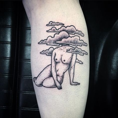 10+ Strangely Beautiful Tattoos Of Headless Girls By Molly Jean