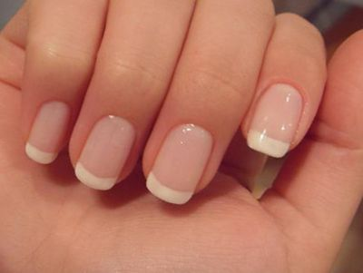 French manicures are made with artificial nails. You can easily do this at home with following step by step French Manicure Tutorial....
