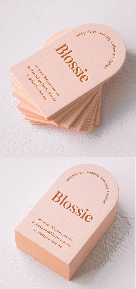 Blossie Business Card