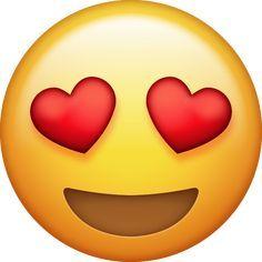 Download Heart Eyes Emoji Ios Emoji Eyes Emoji Emoji Pictures
