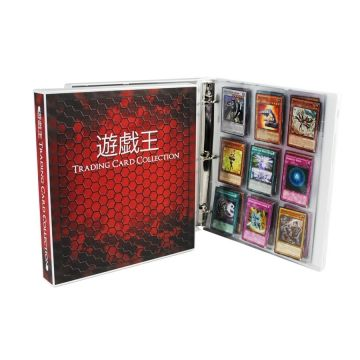 Yu Gi Oh Themed Trading Card Binder Trading Card Binder Trading Card Storage Yugioh Trading Cards
