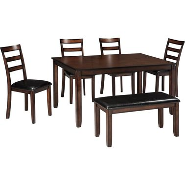Signature Design By Ashley Covair 6 Pc Dining Set Dining Sets