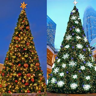 Commercial Christmas Decorations For Resorts Hotels Casinos And More Outdoor Christmas Lights Commercial Christmas Decorations Outdoor Christmas