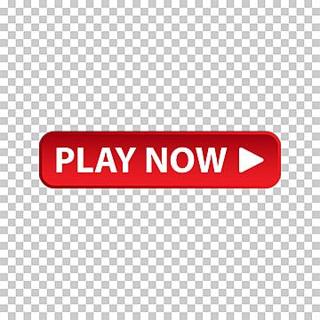 Play Now Button Design With Red And White Symbol Design Button Png And Vector With Transparent Background For Free Download Red And White Button Design Red Play