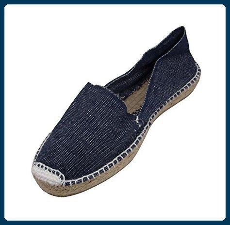 Alpargatus , Damen Espadrilles, Blau - marineblau - Größe: 39