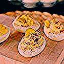 'Deviled Egg' Cake Balls ~ Weekend Potluck #268 - #Balls #cake #Deviled #Egg #Potluck #weekend #deviledeggs 'Deviled Egg' Cake Balls ~ Weekend Potluck #268 - #Balls #cake #Deviled #Egg #Potluck #weekend