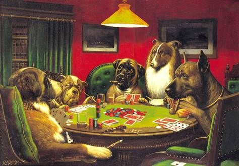 Animals associated with gambling connoisseur club casino