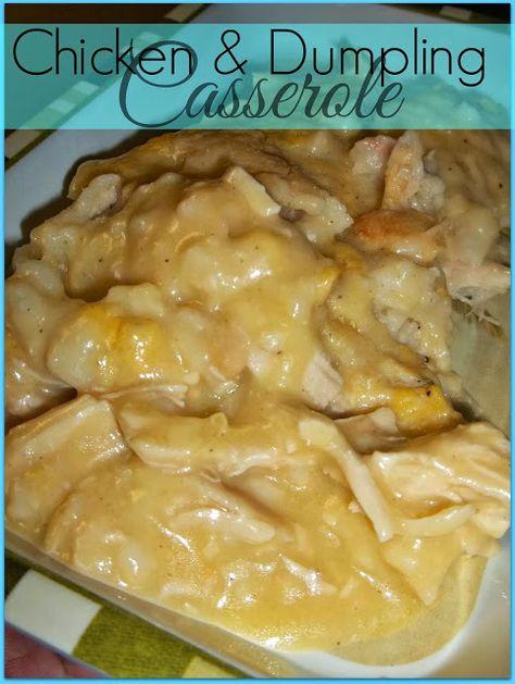 Rockabilly Grillin': Chicken & Dumpling Casserole Recipe
