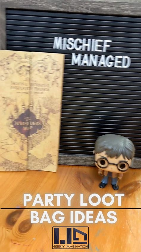 Harry Potter Boomarks, The Perfect Option for your Party Loot Bags