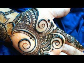New Stylish Arabic Mehndi Designs For Front Hands 2